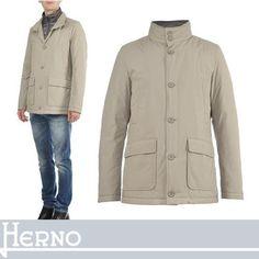 HERNO ダウンジャケット HERNO 機能的な使い心地とカジュアルな要素で遊ぶ大人の一着