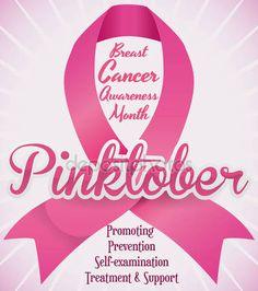 HipGirl Pink Ribbon Breast Cancer Awareness Ribbon