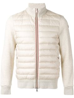 Moncler 'Lans' puffer jacket (1,387 CAD) ❤ liked on Polyvore featuring outerwear, jackets, moncler, red jacket, moncler jacket, qu…