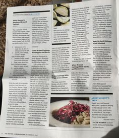Braised cabbage recipes by Adam Ried