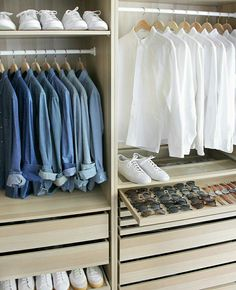 Learn To Build A Wardrobe You Love - loving the color coordination here and all those sunglasses