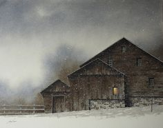 Artist: Jeremy Browne - Title: Late Day Flurries