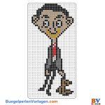 Mr Bean buegelperlen vorlagen web cd2d9