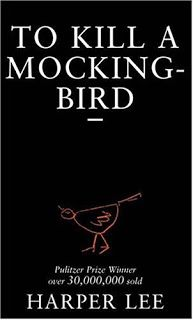 To Kill a Mockingbird by Harper is Lee is considered as a modern day classic and is universally recognized. The use of a visual metaphor is evident within the front cover of this book design.  A mocking bird has been positioned in the middle at the bottom and it is a representation of the major them that is omnipresent within the novel, innocence. The mockingbird also represents a number of characters Jem, Tom Robinson, Dill and Boo Radley. This book cover is simple yet visually impacting.