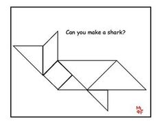 tangram coloring pages - photo#40