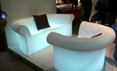 Sirchester Luminous Sofa, a Touch of Eccentricity