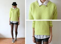 Fluffy knit.  BY SIETSKE L., 22 YEAR OLD FASHION COMMUNICATOR FROM THE NETHERLANDS
