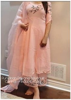 Designer Punjabi Suits Patiala, Punjabi Suits Designer Boutique, Pakistani Dress Design, Boutique Suits, Embroidery Suits Punjabi, Kurti Embroidery Design, Embroidery Patterns, Designer Party Wear Dresses, Kurti Designs Party Wear