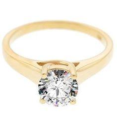 Diamantring / Diamantarmband / Diamantschmuck: Diamantring mit einem 0.25 Karat Diamanten aus 585...