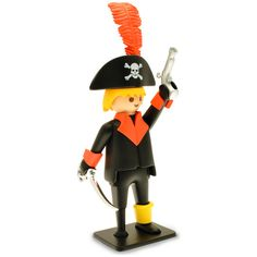 Playmobil Vintage Pirata Gi Joe, Toys, Vintage, Comics, Decor, Products, Childhood Memories, Miniatures, Dog Cat