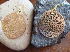 Σκουλαρικι Φιλιγκρι χρυσο 8€ Ancient Greek, Crochet Earrings, Pendant Necklace, Jewelry, Style, Swag, Jewlery, Jewerly, Schmuck