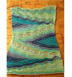 Stricken: Short rows und feather-and-fan Wrap And Turn Knitting, Knitting Short Rows, Lace Knitting, Knitting Stitches, Knitting Designs, Knitting Projects, Beginner Knitting, Vogue Knitting, Knitting Needles