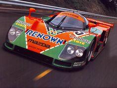 1991 Mazda 787B Le Mans winner