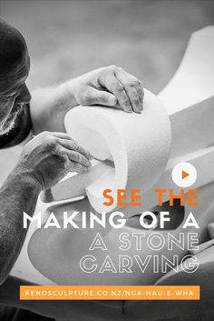 View the process of making this beautiful sculpture and read the story and inspiration behind the design. Stone Carving, Sculpting, Artists, Memories, Life, Inspiration, Maori, Haus, Souvenirs