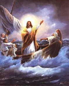 """Jesus Christ is the Savior of the world and the Son of God. He is our Redeemer. Once Jesus wants to cross the Sea of Galilee but suddenly Satan came immediately to steal the Word, by attacking the ship with a storm. Jesus woke up and spoke to the wind and waves, """"Peace, be still."""" And then there was a great calm. Jesus spoke the Word and the storm had to calm down immediately."""