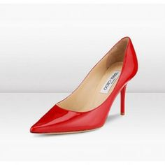 c29a2c4aae5 JIMMY CHOO PATENT LEATHER POINTY TOE PUMPS