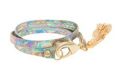 Holiday gift ideas!  Hologram tassel bracelet.