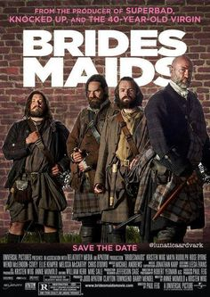 The party will end with a brawl. #Outlander #best bridesmaids ever