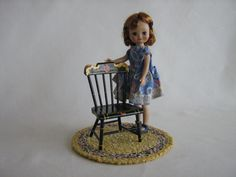 Vintage Hand Painted Pennsylvania Dutch Style Chair by TheToyBox, $20.00