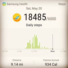 #9miles in with #900calories burned already... And that's on a badday  #dailysteps #stepschallenge  Don't let pain prevent you from working towards getting better. #ironman #ironwill