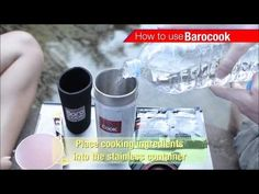 Flameless cooking system (Flameless Cooker) BAROCOOK BC-004 (Tumbler) Instruction