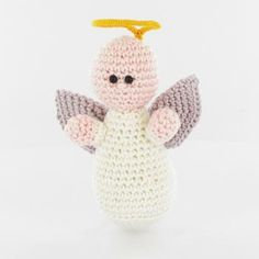 Nativity set: Angel amigurumi pattern by Woolytoons