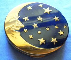 Vintage COMPACT by Crafters Chicago, Constellation