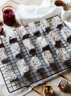 G'day fellow foodies! With our Australia Day holiday nearly here, I thought it was only fitting to try make some scrumptious Brooke-a-fied Lamingtons. For my international readers; Grain Free, Dairy Free, Gluten Free, Sweet Recipes, Healthy Recipes, Anzac Day, Australia Day, Lunch Boxes, Health And Wellbeing