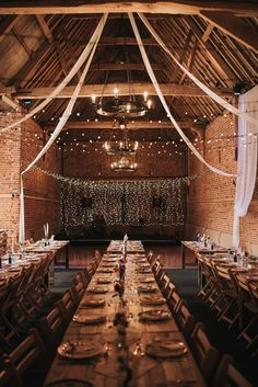 Glebe Farm Barn Wedding - Pear & Bear Photography Gorgeous DIY barn wedding, complete with fairylights at Glebe Farm Barn in Wymondham, Norfolk Wedding Venues Uk, Barn Wedding Venue, Farm Wedding, Diy Wedding, Wedding Events, Wedding Reception, Barn Wedding Lighting, Hunting Wedding, Wedding Dress