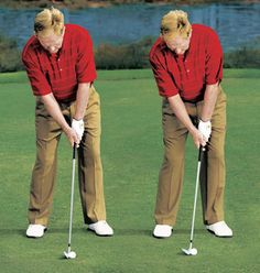 """One of the Global Golf PGA Professionals gives you the secret to better iron contact in this """"Tip Of The Week."""" Read and start to hit purer iron shots! Golf Downswing, Golf Pga, Golf N Stuff, Golf Chipping Tips, Golf Putting Tips, Golf Exercises, Workouts, Jack Nicklaus, Golf Videos"""