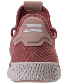 adidas Women's Originals Pharrell Williams Tennis Hu Casual Sneakers from Finish Line - Pink 7 Williams Tennis, Pharrell Williams, Adidas Originals, The Originals, Casual Sneakers, Adidas Sneakers, Womens Fashion Sneakers, Finish Line, New Shoes