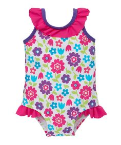 Mothercare Floral Swimsuit €9.60