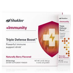 Triple Defense Boost™ | + Immunity | +2 Targeted Solutions | Nutrition | Shaklee US site Cells Activity, Boost Immune System, Product Label, Medical Conditions, Mixed Drinks, Vitamins And Minerals, Nutrition, Blessings