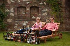 Zsófi és Peti, az alapítók, no meg a borok :)