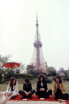 Queen in Japan 1975 photo by Koh Hasebe