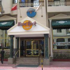This is the Hard Rock Café Bahrain