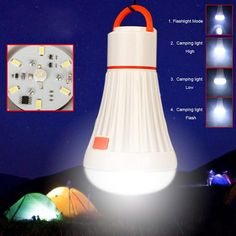 XY ZONE 6LED 3W Camping Tent Light Torch Lantern Flashlight Hanging Lamp Camping Lights,Outdoor LED Camping Light Lantern Light Bulb with Flashlight for Camping, Hiking, Car Repairing Battery Powered ** This is an Amazon Affiliate link. For more information, visit image link.
