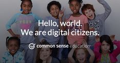 What is digital citizenship? Teach students to use technology safely and responsibly with our curriculum, lesson plans, trainings, and family support tools. Elementary Counseling, Career Counseling, Elementary Schools, Instructional Technology, Educational Technology, Cyber Safety, Common Sense Media, What Is Digital, Health Class