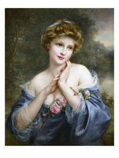 A Summer Rose Giclee Print by Francois Martin-kavel at AllPosters.com