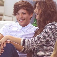 Louis Tomlinson and Eleanor Calder, the cutest couple ever!! ❤️❤️