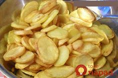 Very crunchy chips, recipe for oven or Airfryer, Light & Yummy No Salt Recipes, Gourmet Recipes, Vegetarian Recipes, Cooking Recipes, Healthy Recipes, I Love Food, Good Food, Yummy Food, My Favorite Food