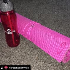 @hercampusmville taking her MUSTS to the Gym!