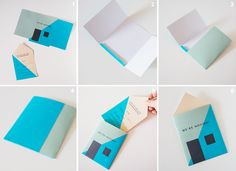 DIY Housewarming Invitations Moving Announcements Tutorial with FREE Printable Free Printable Invitations, Unique Invitations, Party Invitations, Printables, Housewarming Invitation Cards, Housewarming Party, Origami Paper Art, Paper Crafts, New Home Cards