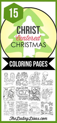 Free Christ-Centered Christmas Coloring Pages for the Kids