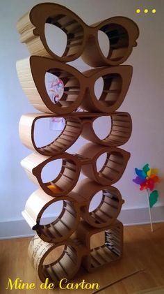 """L'Univers """"Mine de Carton"""" vous propose un mobilier réinventé et une déco recyclée. Rencontre... Jenga, Deco, Boutique, Toys, Crafts, Dating, Universe, Deko, Dekorasyon"""
