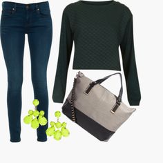 A simple look for a night out drinking with friends! Styled by Chang on  WiShi.me (where friends style friends for upcoming events) Follow our styling boards for all the inspiration you need for any event!