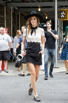 Street Style, New York: 45 mesmerizing shots from outside Monday's Spring's 2015 shows // Chiara Ferragni