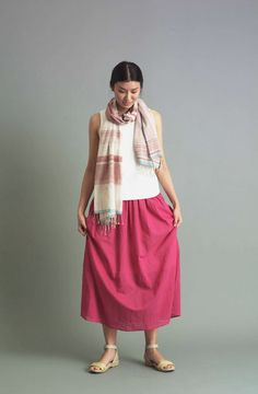 Cotton Scarf | [ JURGEN LEHL ] online shop