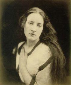 Ellen Terry Watts as Sadness - photograph by Julia Margaret Cameron
