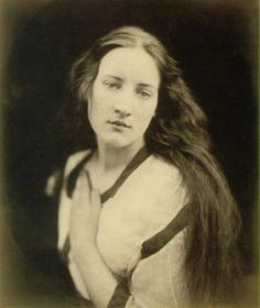 Ellen Terry Watts as Sadness - photograph by Julia Margaret Cameron